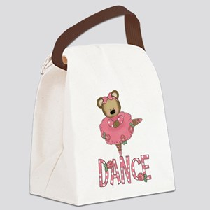 BALLERINA BEAR Canvas Lunch Bag
