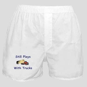 Truck Driver Boxer Shorts