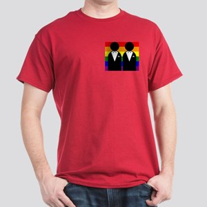 Two Grooms Dark T-Shirt