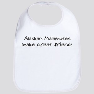 Alaskan Malamutes make friend Bib