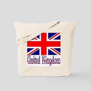 """Union Jack """"Vinque"""" Tote Bag"""