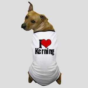 Kerning Dog T-Shirt