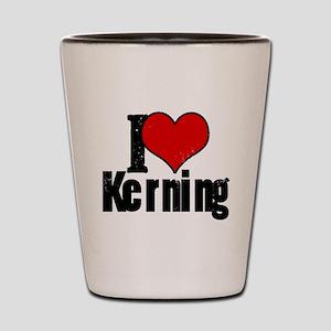 Kerning Shot Glass