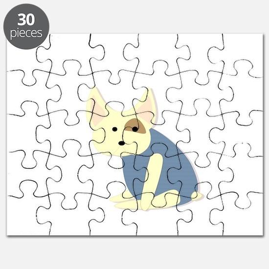 Fat French Bulldog Puzzle