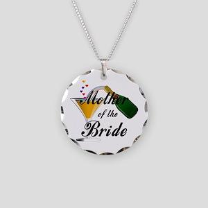 mother of bride black Necklace