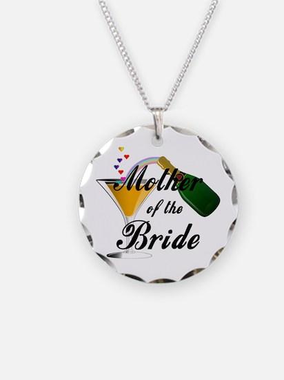 mother of bride black.png Necklace