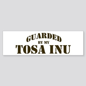 Tosa Inu: Guarded by Bumper Sticker