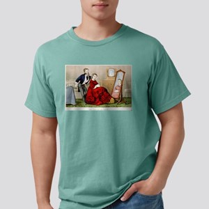 An artist in hair - 1871 Mens Comfort Colors Shirt