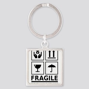 Fragile Please Handle With Care Keychains