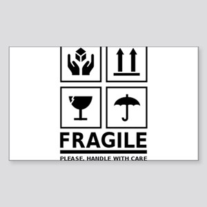 Fragile Please Handle With Care Sticker