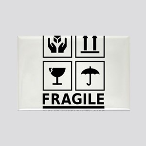 Fragile Please Handle With Care Rectangle Magnet