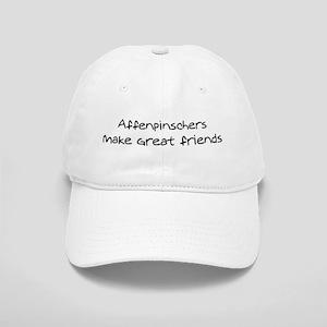 Affenpinschers make friends Cap