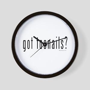 Got Toenails? Wall Clock