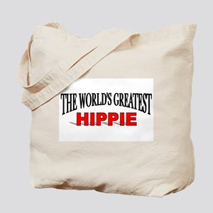 """The World's Greatest Hippie"" Tote Bag"