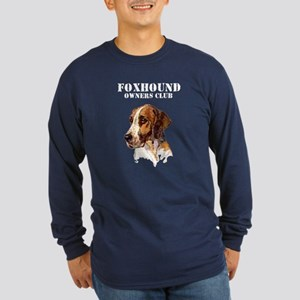 Foxhound Owners Club Long Sleeve Dark T-Shirt