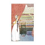 Tarrant's Princess & Pea Rectangle Sticker