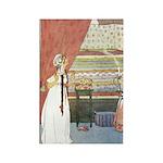 Tarrant's Princess & Pea Rectangle Magnet (10 pack