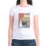 Tarrant's Princess & Pea Jr. Ringer T-Shirt