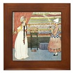 Tarrant's Princess & Pea Framed Tile