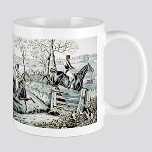 Fox chase - In full cry - 1846 11 oz Ceramic Mug