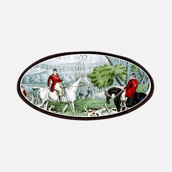 Fox chase - Throwing off - 1846 Patch