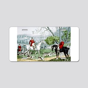 Fox chase - Throwing off - 1846 Aluminum License P