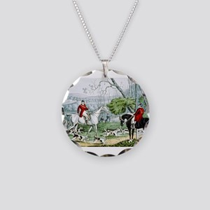 Fox chase - Throwing off - 1846 Necklace Circle Ch