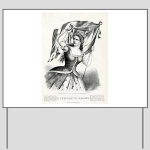 Freedom to Ireland - 1866 Yard Sign