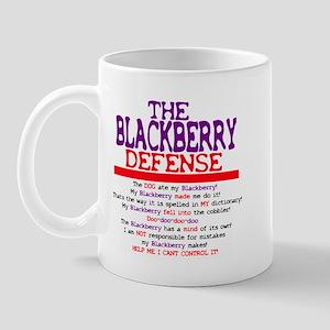 The Blackberry Defense Mug