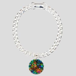 Coral Reef Charm Bracelet, One Charm