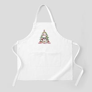 Country Christmas BBQ Apron