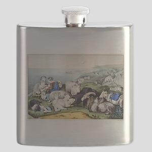 Peace - 1856 Flask