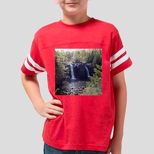 Waterfall Coaster Youth Football Shirt