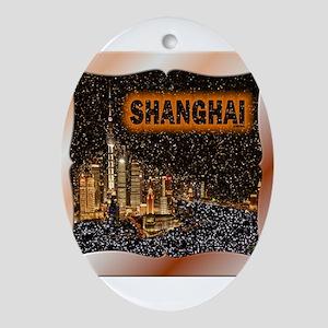 Shanghai Ornament (Oval)