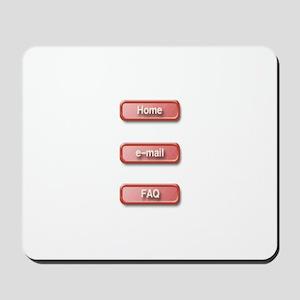 Computer-buttons Mousepad