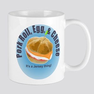 PR blue Mug