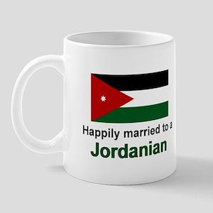 Happily Married To A Jordanian Mug