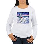 Northern Lights Women's Long Sleeve T-Shirt