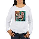 Miss B and Teddy Women's Long Sleeve T-Shirt