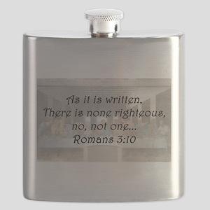 Romans 3:10 Flask