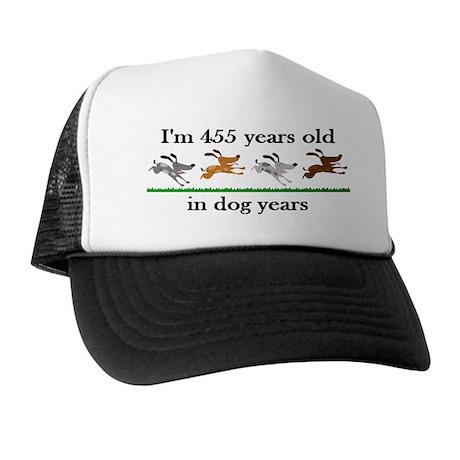 65 dog years birthday 2 Trucker Hat