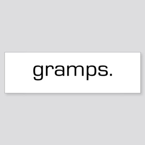 Gramps Bumper Sticker