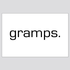 Gramps Large Poster