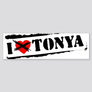 I Hate Tonya Bumper Sticker