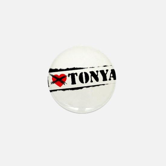 I Hate Tonya Mini Button