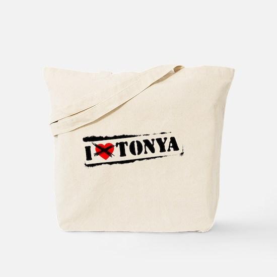 I Hate Tonya Tote Bag
