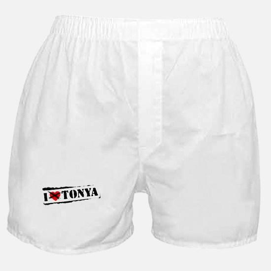 I Hate Tonya Boxer Shorts
