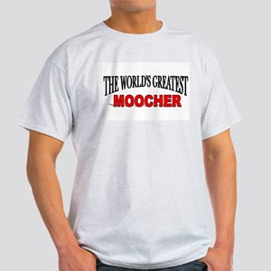 """The World's Greatest Moocher"" Ash Grey T-Shirt"