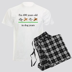 70 birthday dog years 1 Pajamas