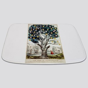 The tree of intemperance - 1849 Bathmat